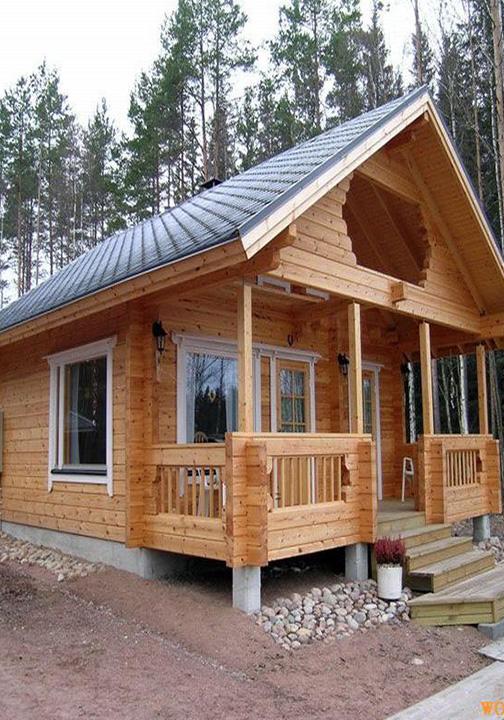 防腐木小型木屋