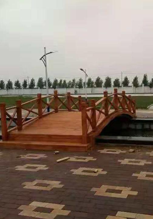 防腐木木桥厂家