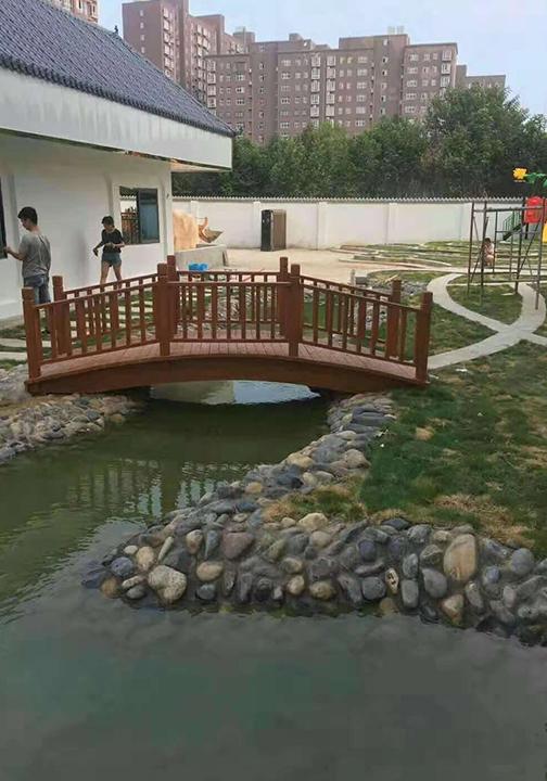 防腐木小桥定制