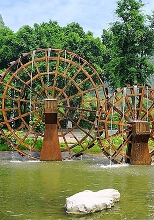 郑州防腐木水车
