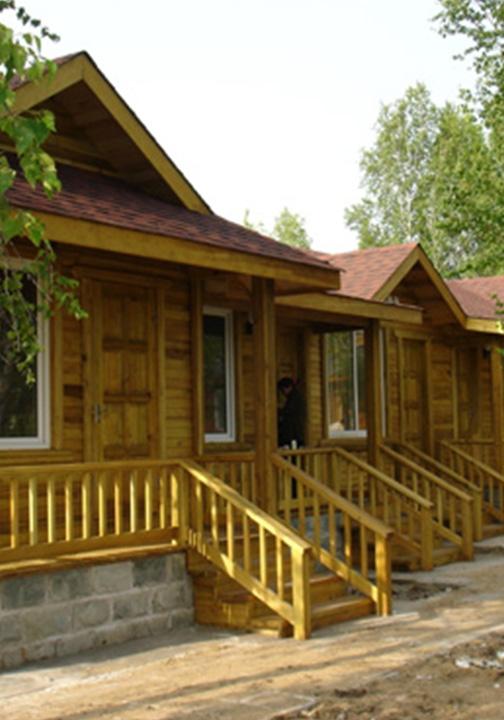 防腐木大型木屋