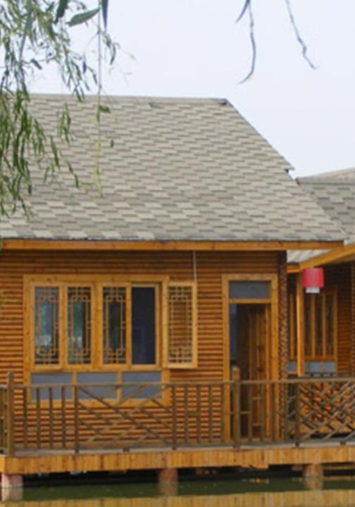 河南防腐木木屋